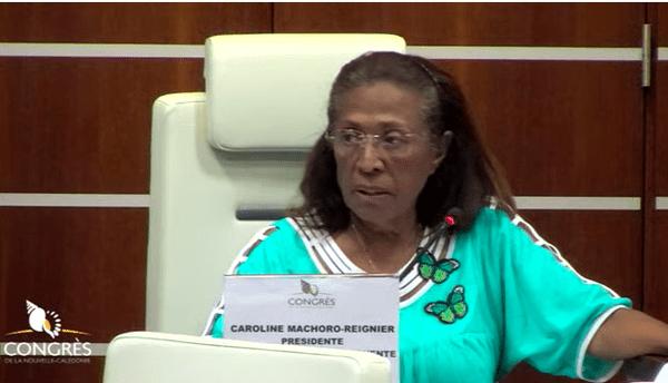 Coronavirus, séance de la commission permanente du Congrès, 11 avril 2020, Caroline Machoro-Reignier