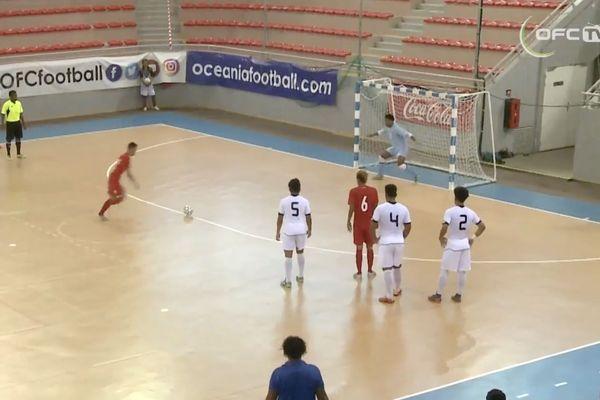 Futsal rougeole