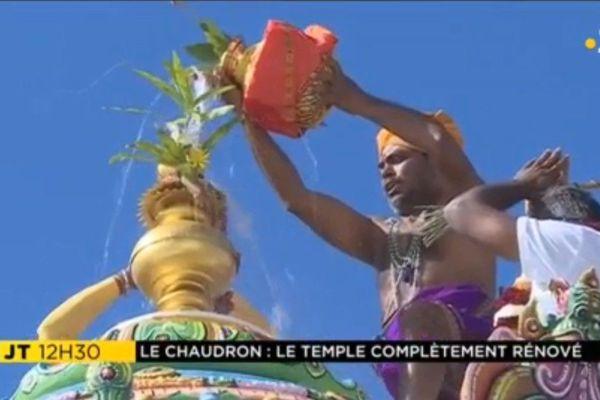 Consécration temple du Chaudron 17 06 18