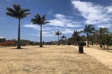 La sécheresse au parc Georges Brunelet à Nouméa