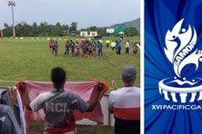 La finale se jouait sur les Blatter soccer fields d'Apia.
