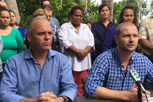 Lionnel Brinon, Nicolas Metzdorf, liste l'Union pour La Foa