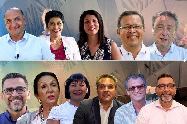 """Ce jeudi 10 juin, à 19h45, suivez """"Le Grand Débat"""" entre les onze candidats aux Régionales sur Réunion La 1ère, radio, télé et internet."""