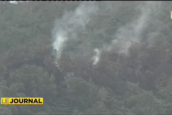 Nouvel incendie de brousse  à Papehue
