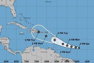 La tempête Dorian