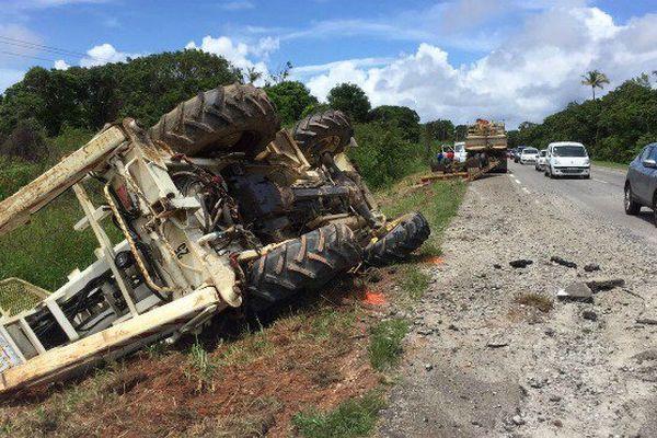 Accident mortel ce samedi 6 mai à Macouria.