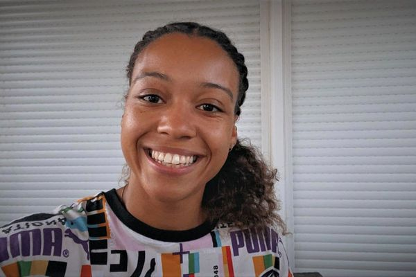 L'athlète martiniquaise Cynthia Leduc.