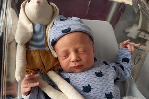 Arthur Hélène est le premier bébé de l'année 2019 à Saint-Pierre et Miquelon