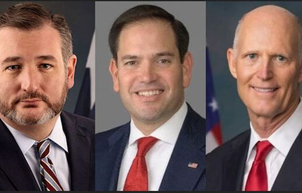 Les sénateur américains Cruz, Rubio, Scott