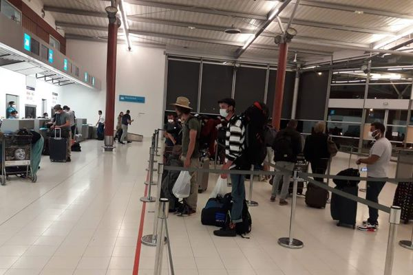 coronavirus: rapatriement des non résidents vers la métropole 27/03/20