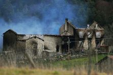 La ferme de Frédérik Limol le forcené qui a tué trois gendarmes dans le Puy de Dôme.