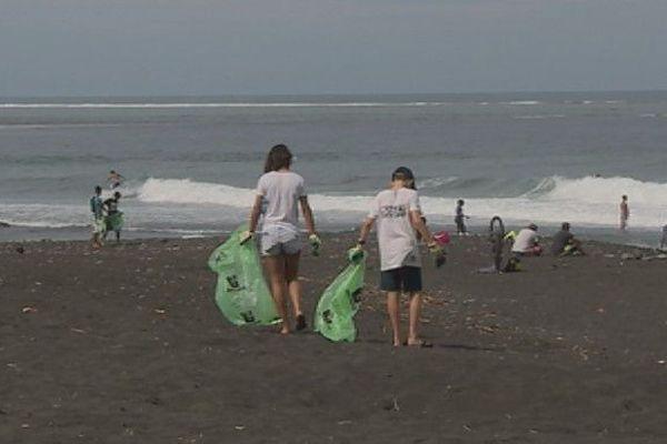 Opération nettoyage des plages