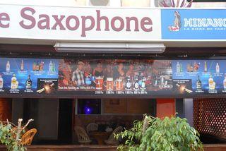 boîte de nuit le saxophone