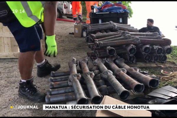 Internet : la pose du câble sous marin entre les Samoa et Tahiti s'achève