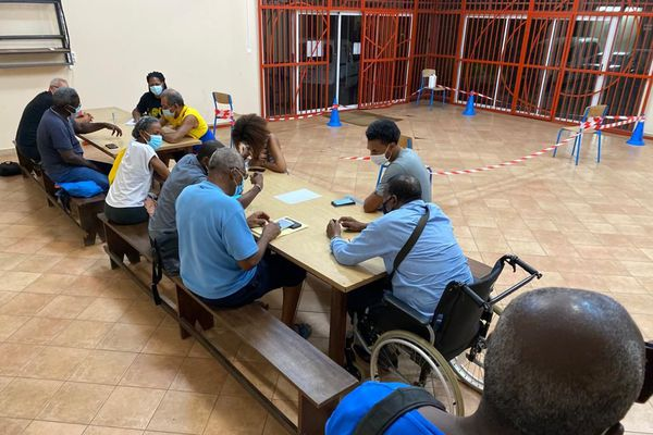 Réunion clubs de sports de Cayenne