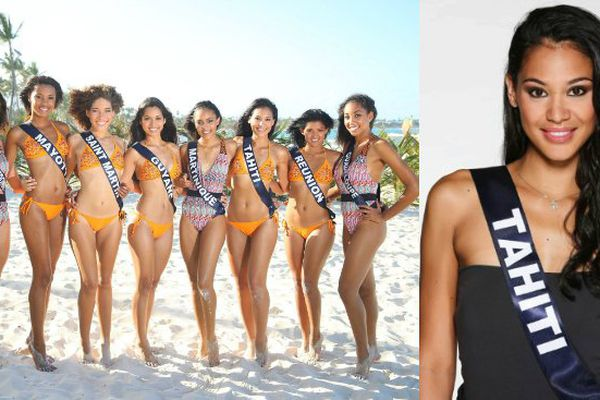 Miss tahiti et miss outre-mer