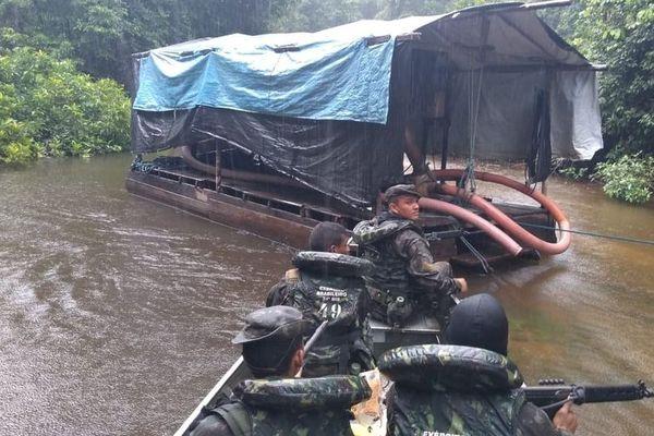 Opération Keriniutu dans la région d'Oiapoque