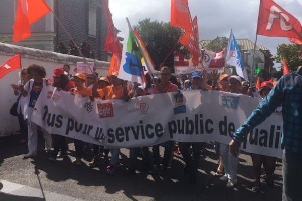 Manifestation fonction publique 22 mai 2018