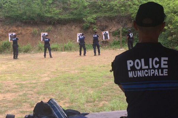 Flash ball police municipale Nouméa