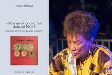 Jeanne Wiltord intervenant au Cénacle du Festival culturel de Fort-de-France en juillet 2020.
