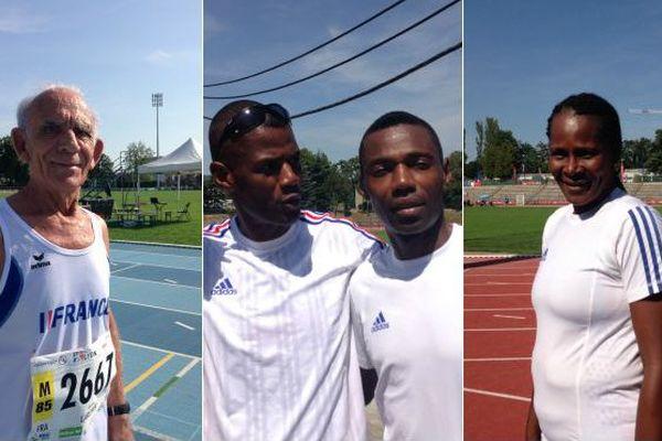 Les vétérans ultramarins gagnent des médailles aux championnats du monde d'athlétisme à Lyon