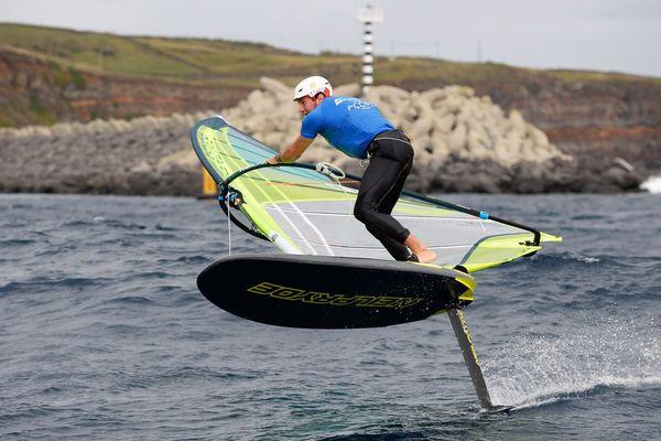 Thomas Goyard aux Championnats du monde de RS:X convertibel