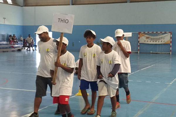 Coupe Yeiwene, 29e édition, participants de Thio, 27 janvier 2020