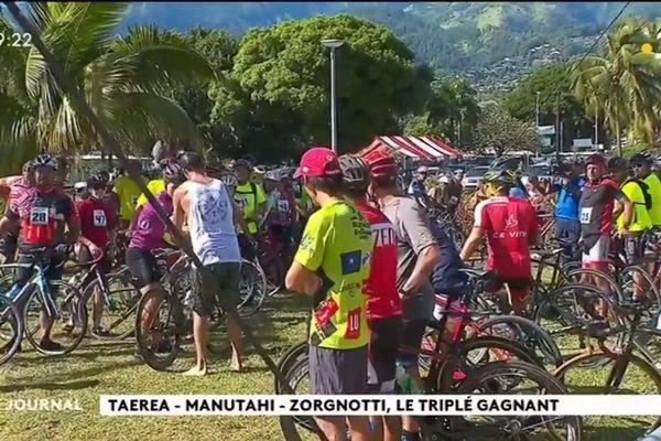 Triathlon- Taaone Race : Taerea - Manutahi - Zorgnotti le triplé gagnant