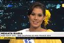 Invitée du journal télévisé, Mehiata Riaria
