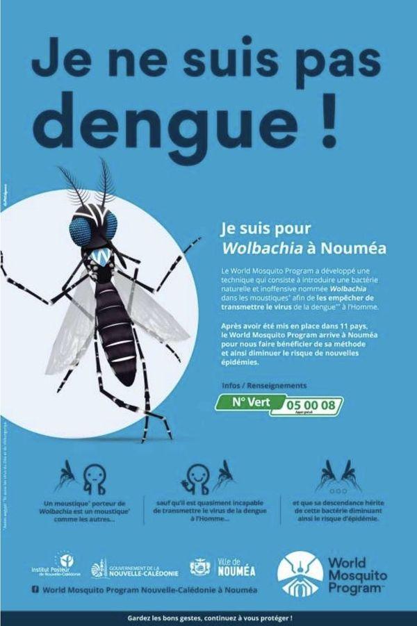 Wolbachia 1er lâcher moustiques Nouméa