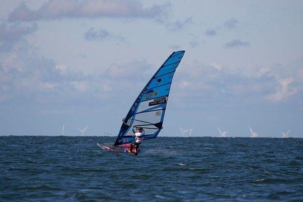Nicolas Goyard n'a jamais terminé plus loin que la 4e place en neuf manches à Sylt.