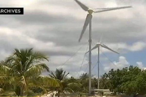 Les éoliennes de Makemo
