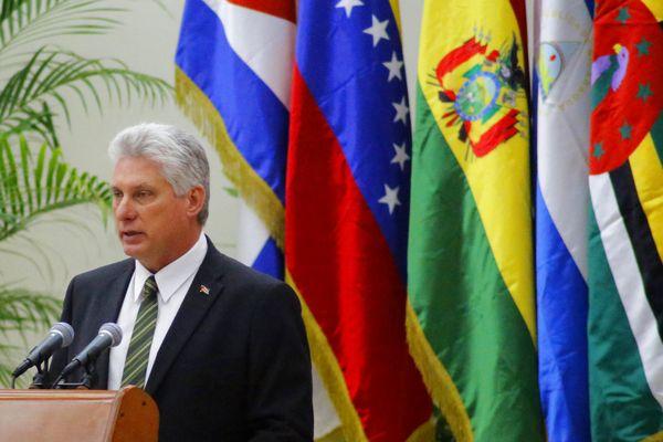 Miguel Diaz-Canel, président cubain