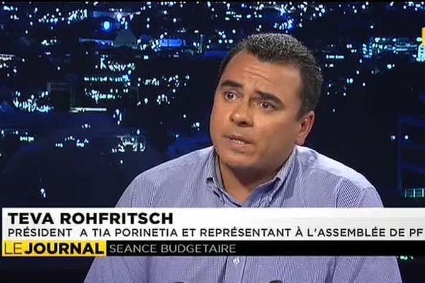 Teva Rohfritsch appelle Edouard Fritch à rassembler
