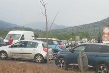 Les embouteillages causent l'augmentation des poussières fines dans l'air.