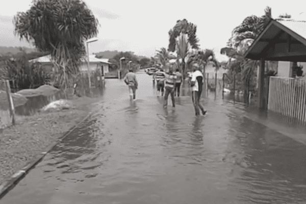 Le lotissement Maya inondé