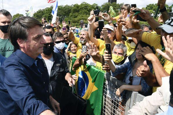 Brésil, deuxième pays le plus touché par le coronavirus
