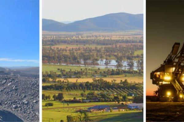 La mine de charbon australienne