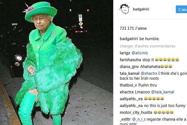 La Reine en Rihanna
