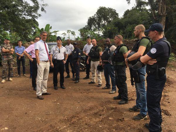 Inauguration d'un nouveau stand de tir à Mayotte