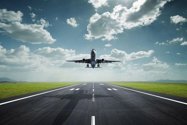 Décollage d'avion