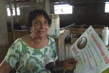 Nicole PADAVATAN a remporté le prix de la meilleure productivité pour son élevage caprin aux Journées agricoles de Bras-Panon