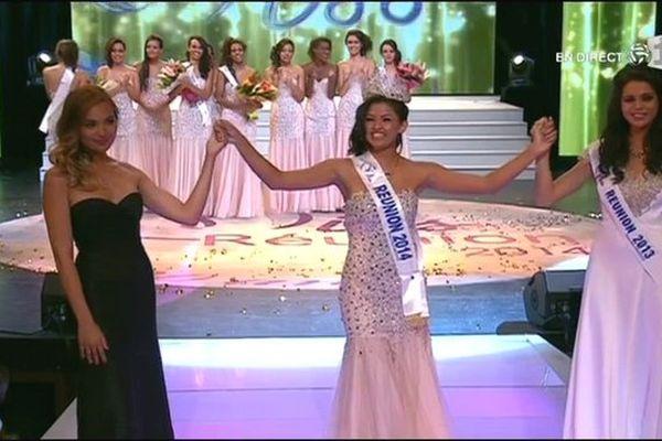 Miss Réunion 2014 : Ingreed Mercredi, élue