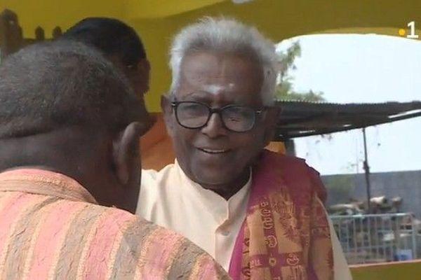 Emilien Ajaguin-Soleyen officiant tamoul très populaire dans l'Ouest décédé le samedi 16 mars 2019