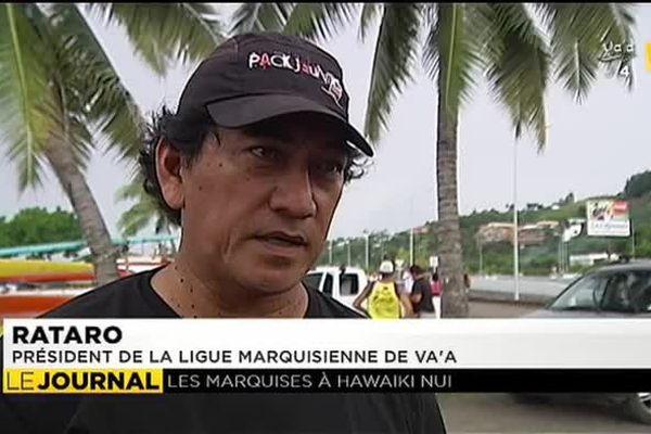 Hawaiki nui va'a : embarquement des hommes et des pirogues pour Huahine