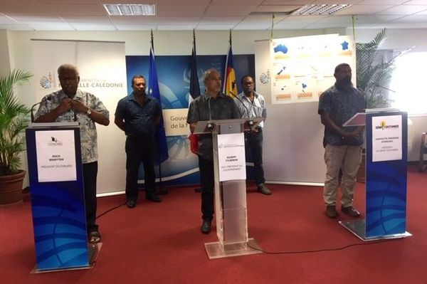 Coronavirus, conférence de presse sur le rapatriement des Calédoniens bloqués, 30 mars 2020