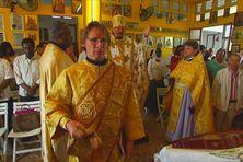 cérémonie orthodoxe en Martinique avec Monseigneur Nestor évêque (2017)