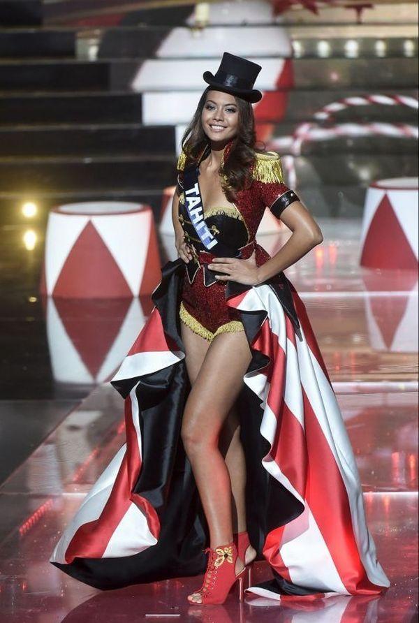 Miss France 2019 : tenue de cirque