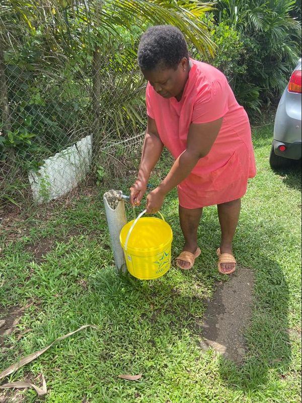 Quartier Ressource pas d'eau courante