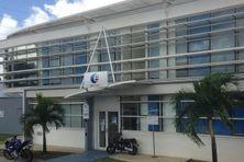 Agence de Pôle emploi à Fort-de-France.